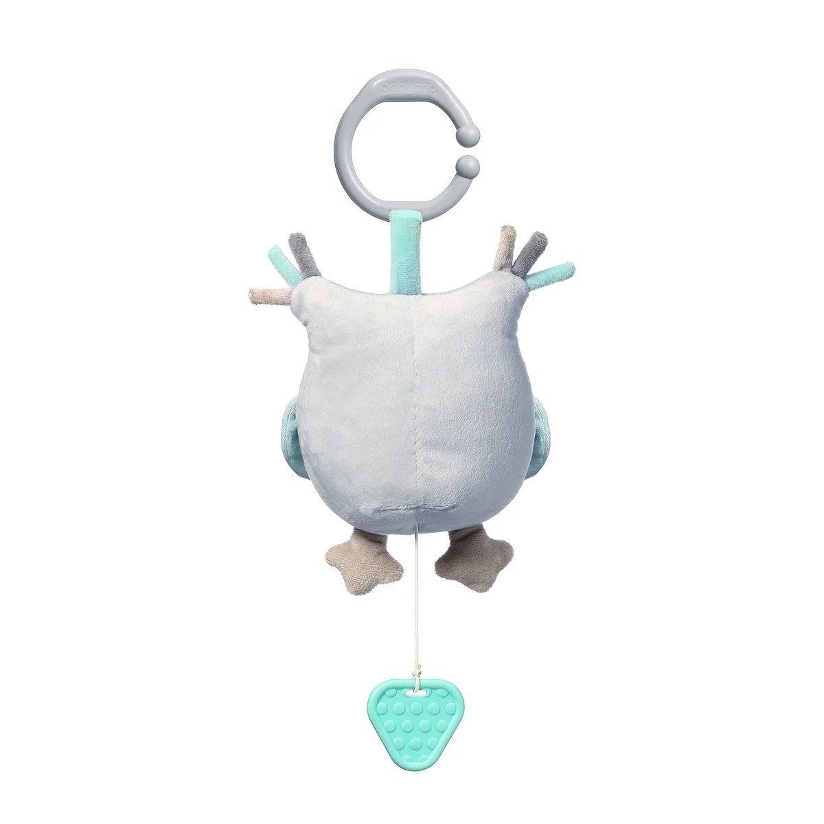 Ply�ov� hra�ka s klipom a vibr�ci� OWL SOPHIA - zv��i� obr�zok