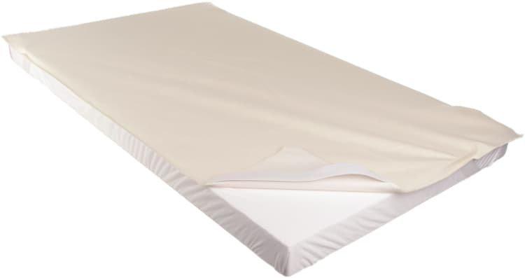 Chr�ni� matrace 160 x 200 cm nepromokav� bio flanel - zv��i� obr�zok