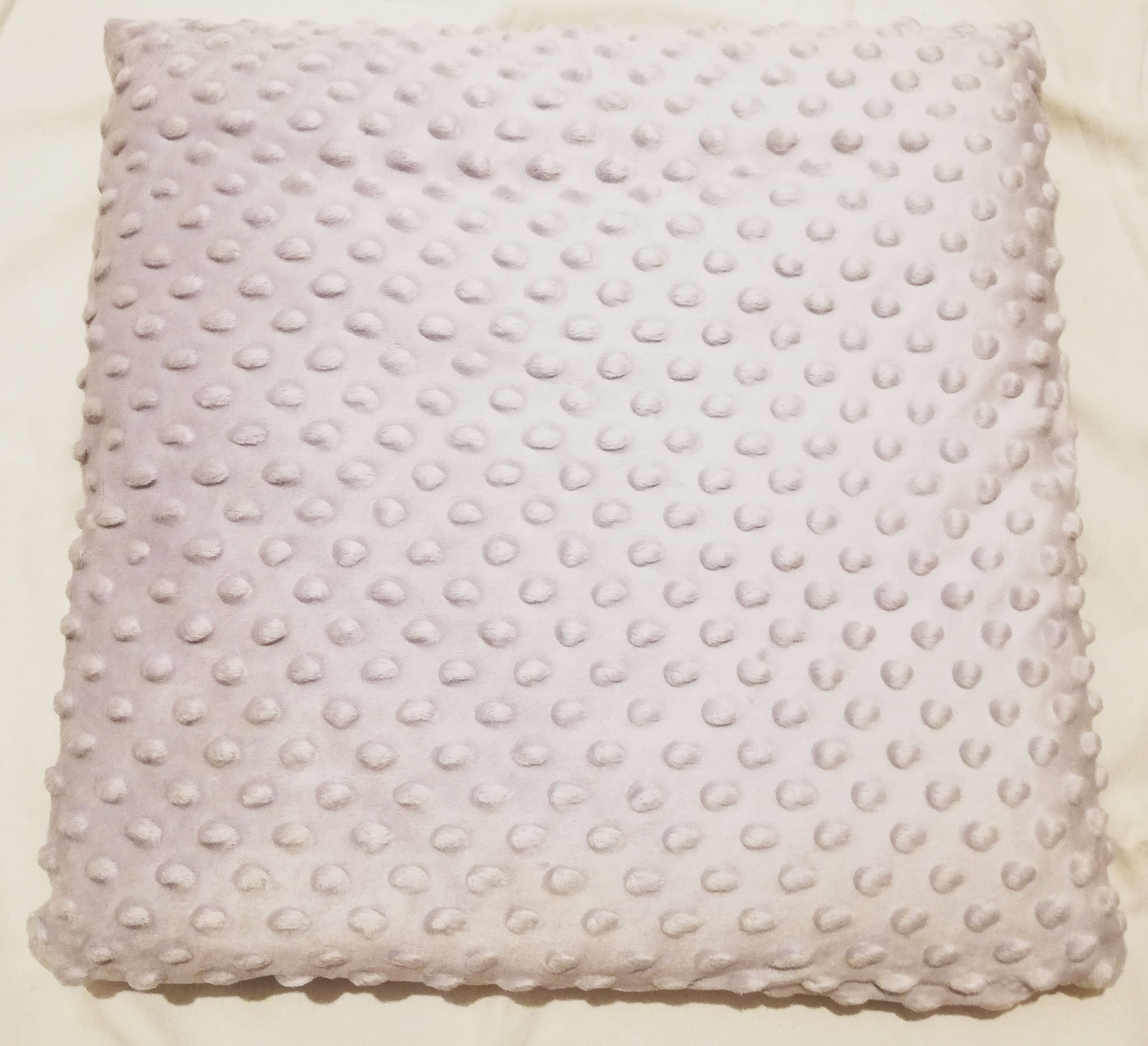 D�tsk� pol�t�� bavlna + minky 40x40 cm r��ov� kv�ty - zv��i� obr�zok