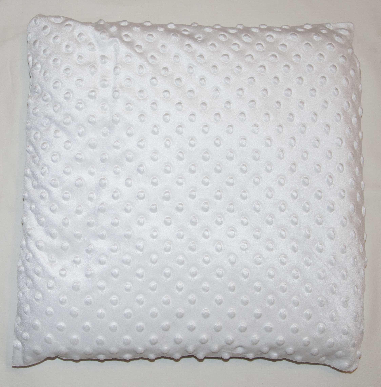 D�tsk� pol�t�� bavlna + minky 40x40 cm srdce r��ov� - zv��i� obr�zok