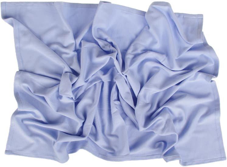 Letn� deka 100x150cm z biobavlny modr� - zv��i� obr�zok
