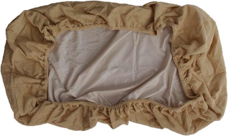 Nepropustn� prost�radlo 120x200cm b�ov� frot� bavlna - zv��i� obr�zok