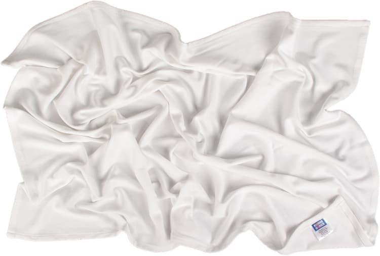 Letn� deka 70x100cm z bio-bavlny b�l� - zv��i� obr�zok