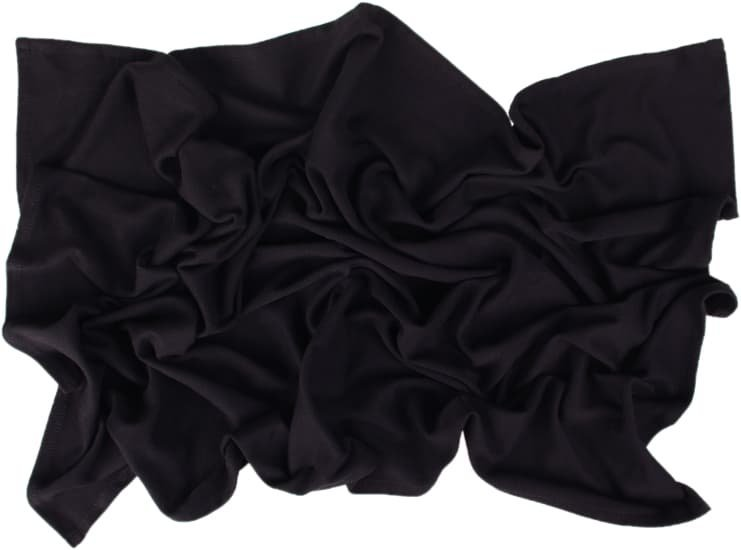 Letn� deka 70x100cm z bio-bavlny �ern� - zv��i� obr�zok