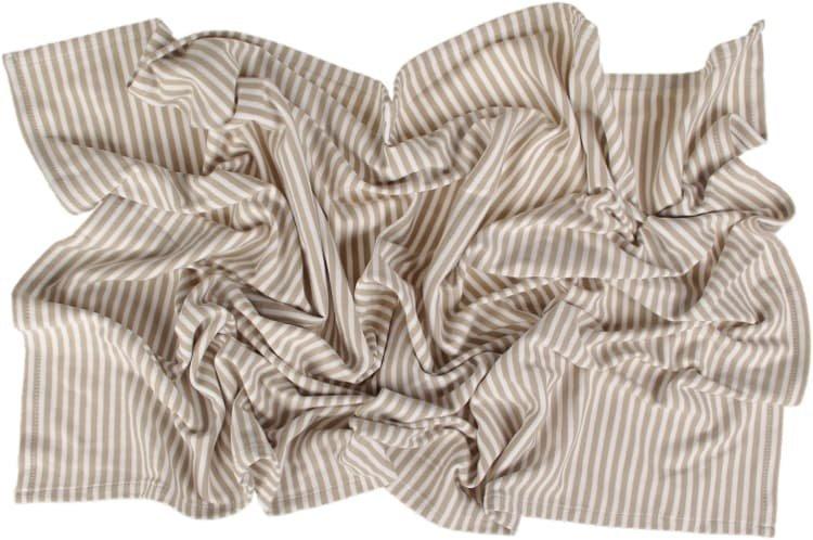 Letn� deka 70x100cm b�ov� prou�ky - zv��i� obr�zok
