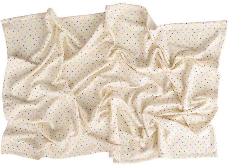 Letn� deka 150x200cm z biobavlny barevn� hv�zdi�ky - zv��i� obr�zok