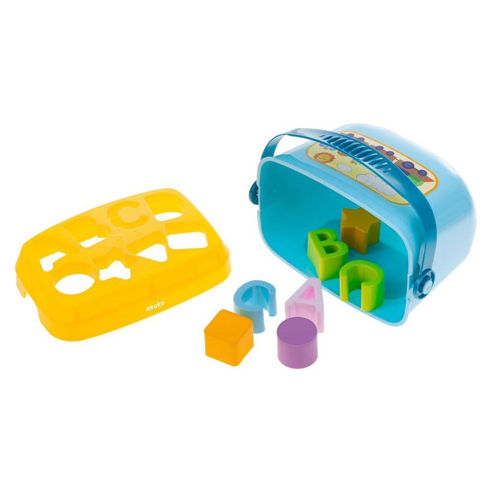 Eduka�n� hra�ka vkl�da�ka kybl�k p�smenka a tvary - zv��i� obr�zok