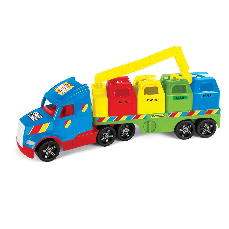 Magic Truck popel��sk� v�z s recyklov�n�m odpadu - zv��i� obr�zok