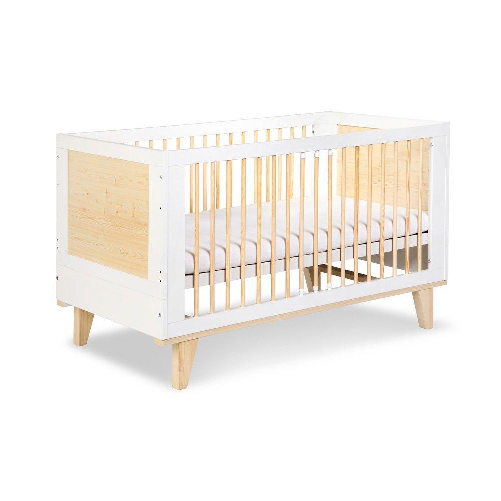 Detsk� izba L�dia s postie�kou 140x70 cm pr�rodn�-biela - zv��i� obr�zok