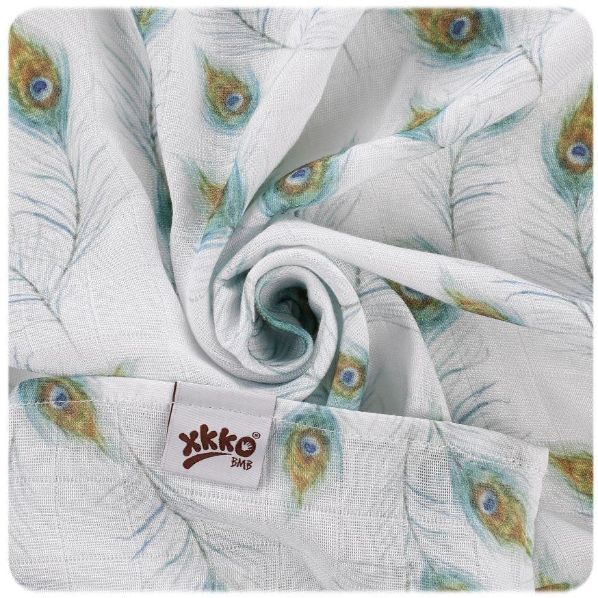 Bambusov� osu�ka 90x100cm Digi Peacock Feathers - zv��i� obr�zok
