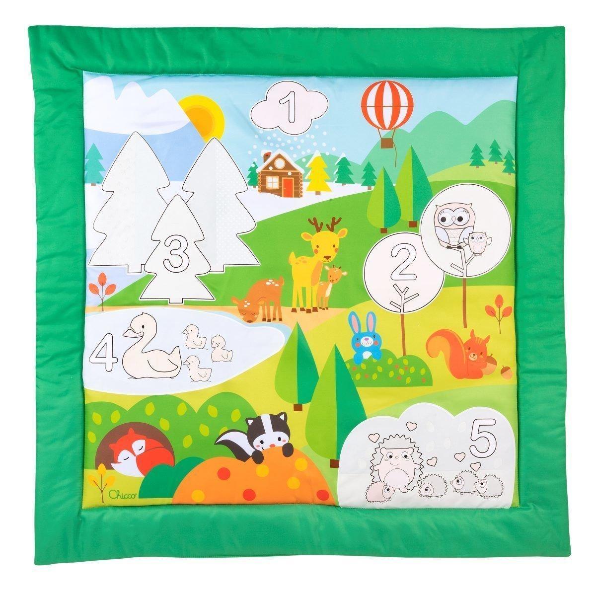 Hracia deka vyfarbovacia colour mat - zv��i� obr�zok