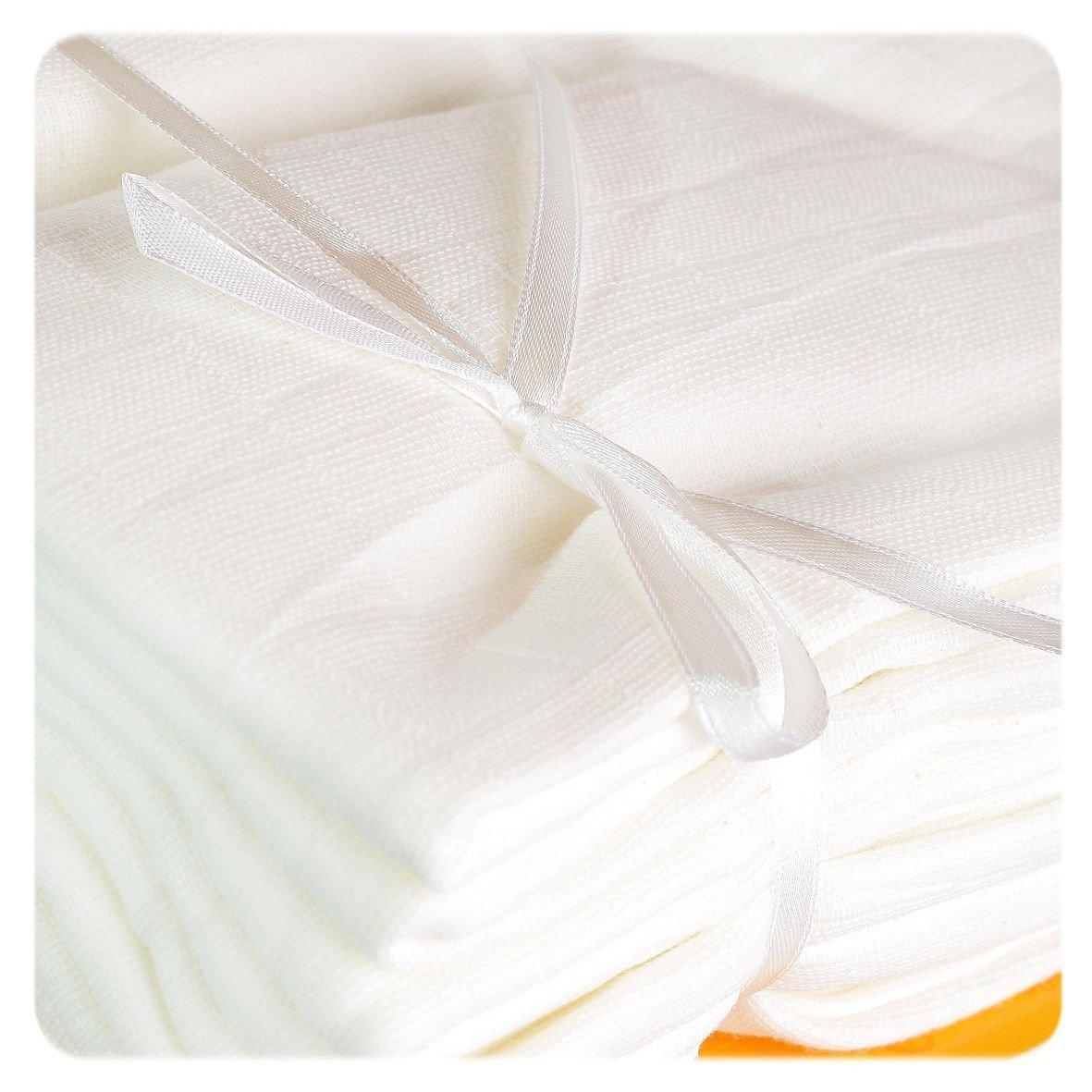 Vysokogram�n� bavlnen� plienky 10ks LUX Natural 70x70cm Kikko - zv��i� obr�zok