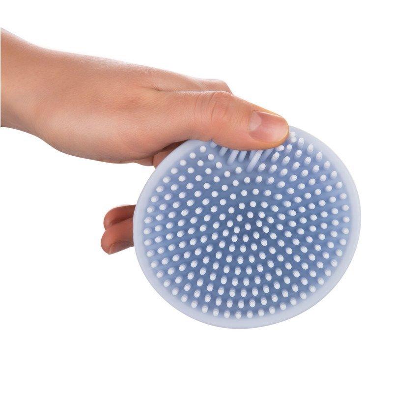 Silikonov� koupelov� kart�� modr� - zv��i� obr�zok