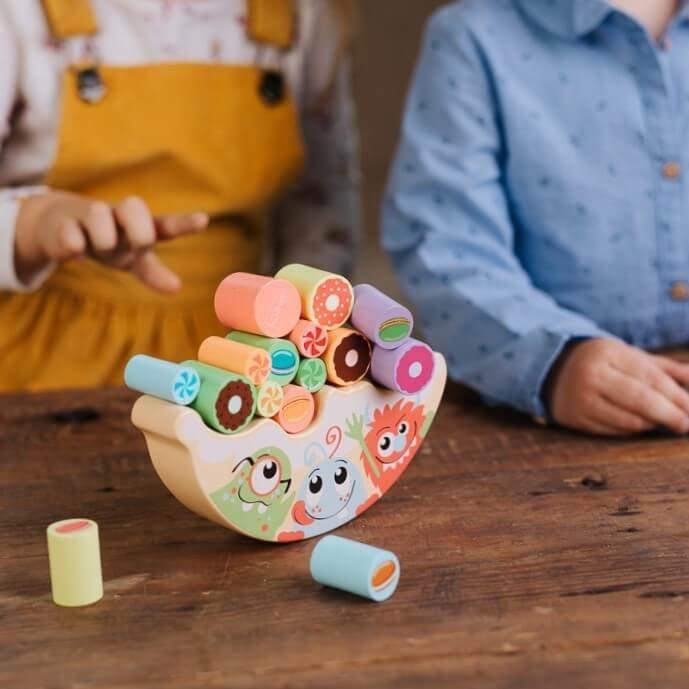 Dreven� hra�ka sladkosti - zv��i� obr�zok