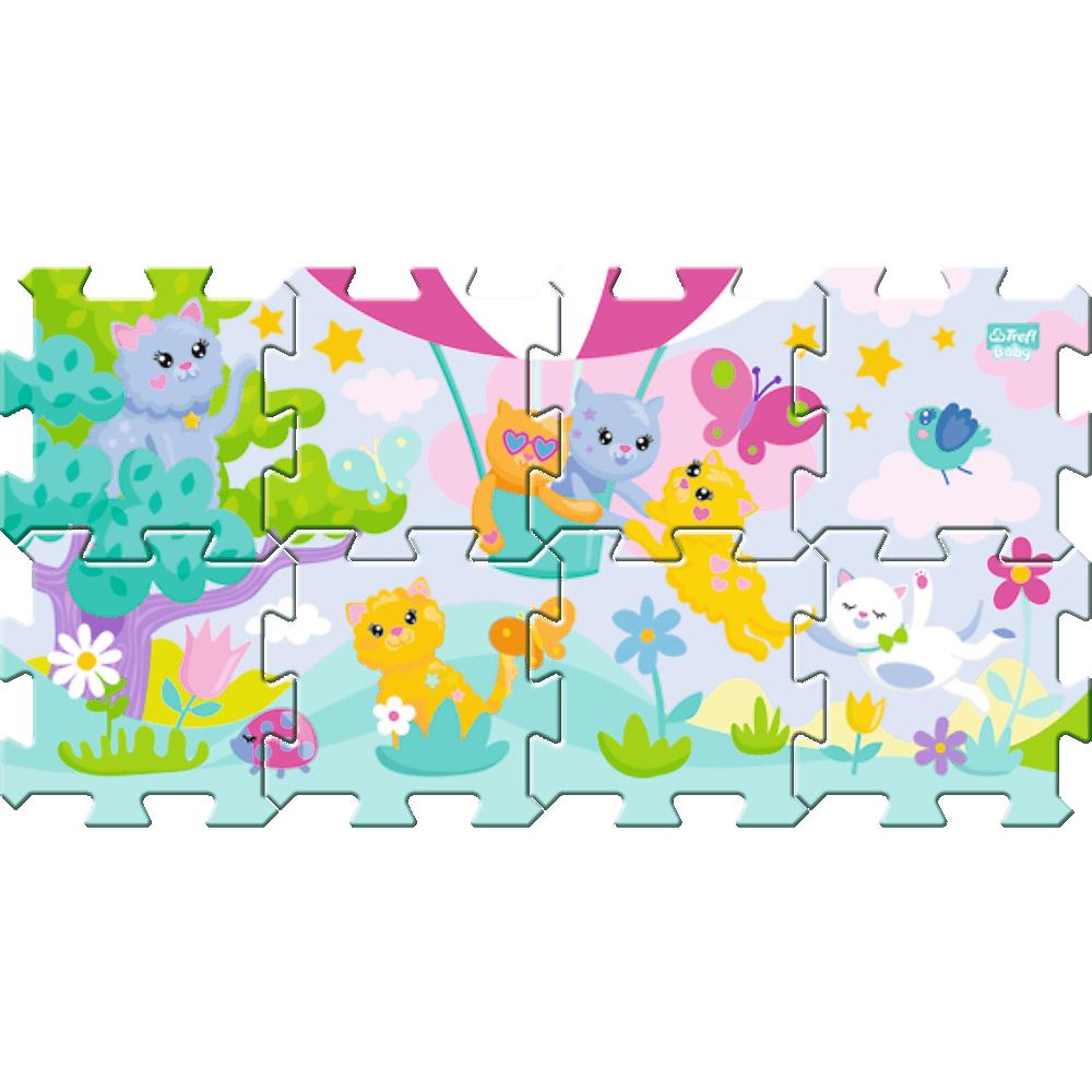Penov� puzzle ma�i�ky - zv��i� obr�zok