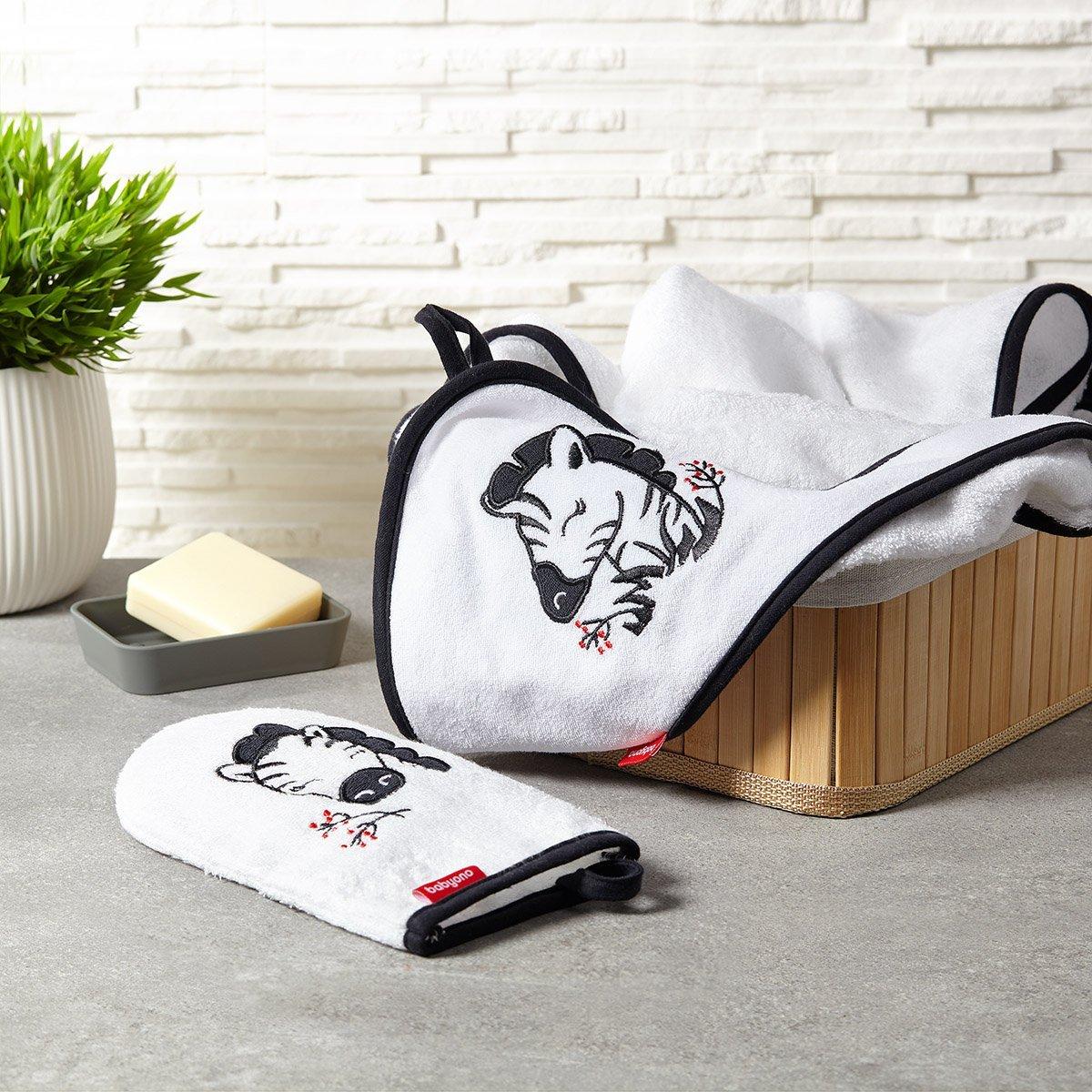 Bambusov� �inka na k�panie NATURAL Zebra bielo �ierna - zv��i� obr�zok