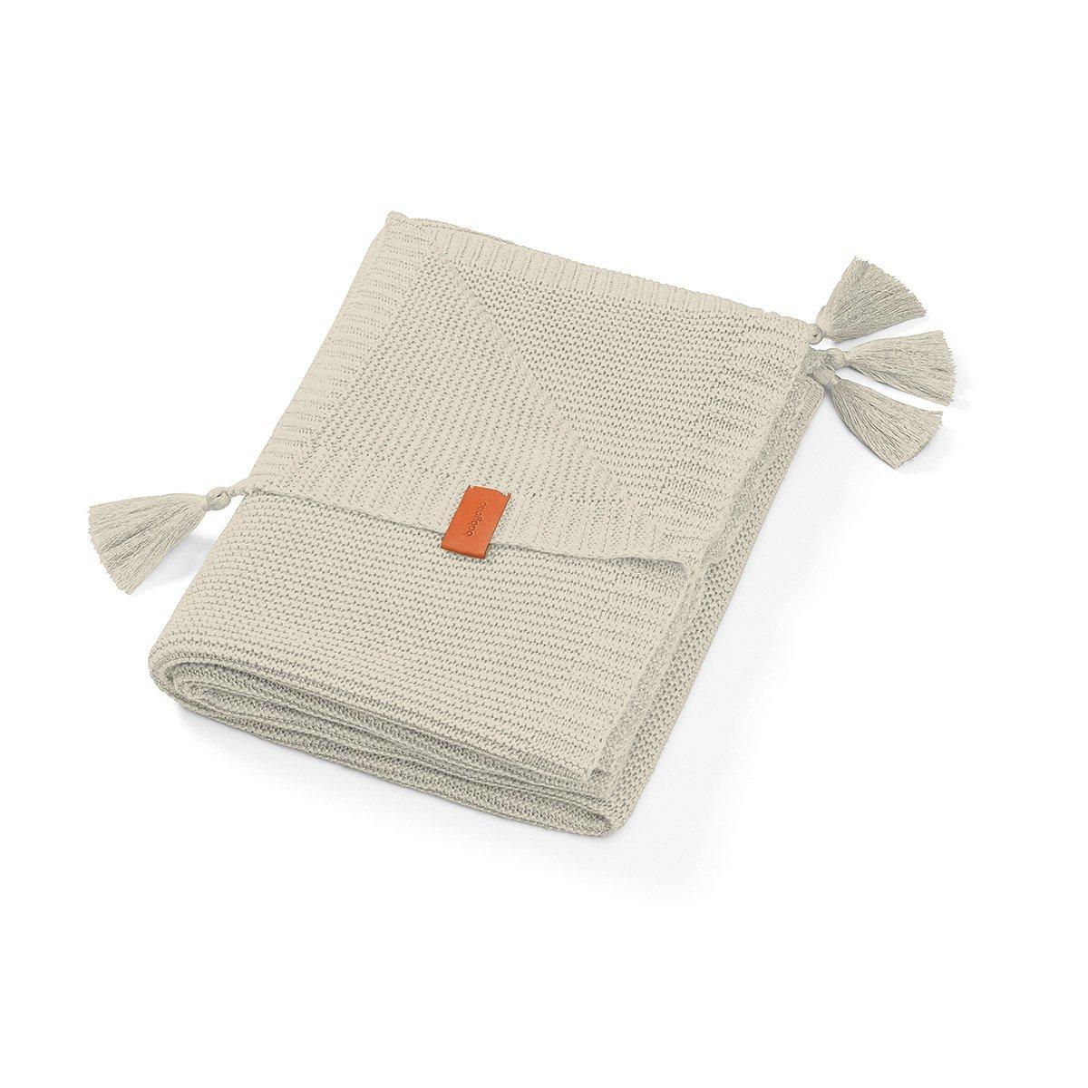 Bambusov� deka so strapcami svetlo siv� - zv��i� obr�zok
