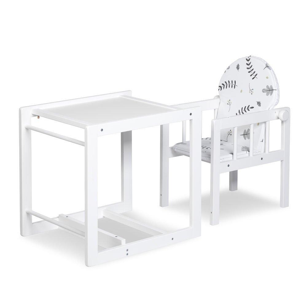 Jed�lensk� stoli�ka Dreven� LILY biela - zv��i� obr�zok
