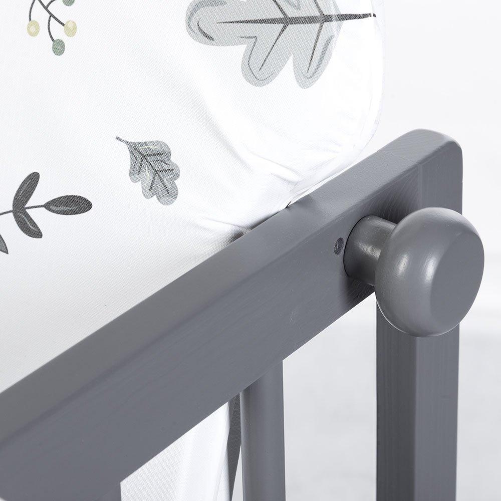 Jed�lensk� stoli�ka Dreven� LILY grafit - zv��i� obr�zok